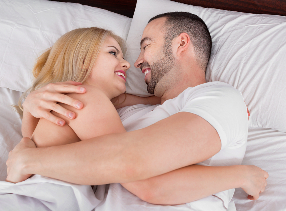 Couple Happy After Increased Sex Drive
